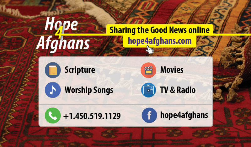 Hope4Afghans cards - 200 English/Dari