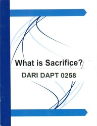 What is Sacrifice?